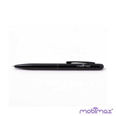 Caneta Stylus Preto para Tablets Mobimax, Preto, Canetas, 12 meses