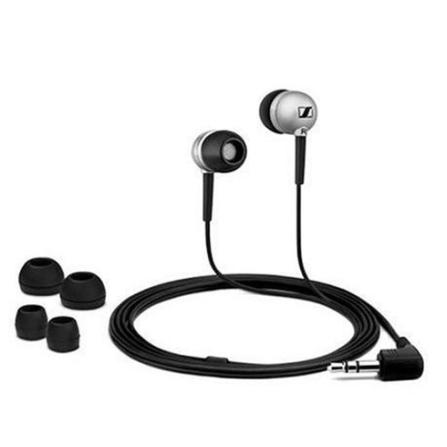 Fone de Ouvido In Ear com Isolamento de Ruídos Externos / Prata - Sennheiser - CX300S