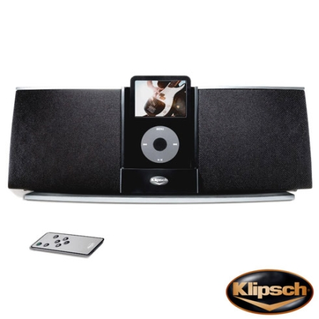 Dock para iPod e iPhone iGroove / Compacto / Recarrega a Bateria do iPod e iPhone / Saída S-Video / Controle Remoto - Klipsch -