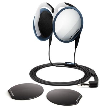 Fone de Ouvido Clip On Portátil / Jogo de Capas para Personalização / Estojo para Transporte - Sennheiser - OMX52