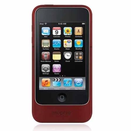 Capa carregadora Vermelho para iTouch 4 - Mophie - MP2012JPAXT4