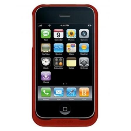 Carregador Vermelho para iPhone 3°Geração Mophie, Bivolt, Bivolt, Vermelho, 06 meses