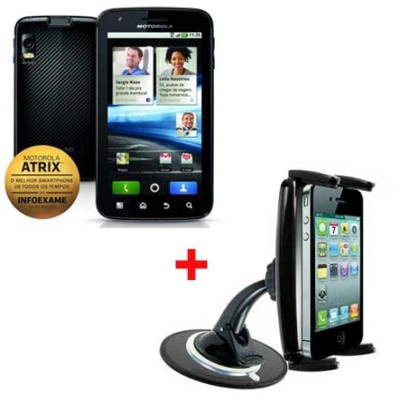 Smartphone Atrix MB860 + Suporte Veicular
