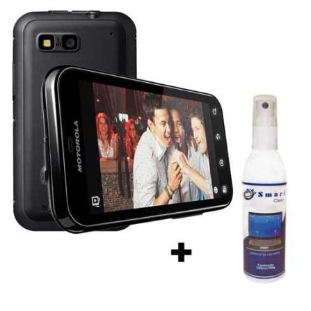 Smartphone MB525 Defy com Câmera 5.0 MP / Tecnologia 3G / Display Touch de 3.7