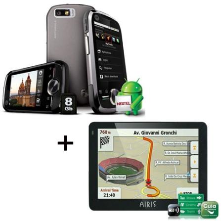 Nextel i1 - Motorola + GPS E350 - Airis