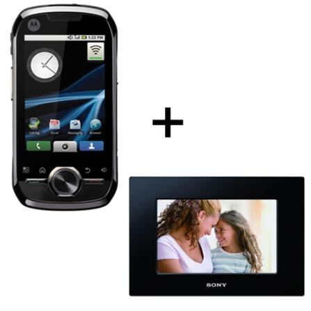 Nextel i1 Motorola + Porta Retrato Digital 7