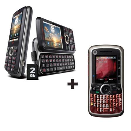 Nextel Motorola i465 Vinho + Nextel i886 Preto