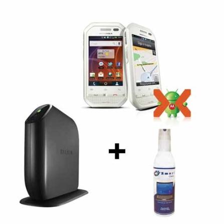 Smartphone Nextel i867 + Roteador + Limpador