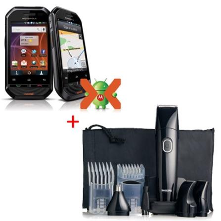 Smartphone Nextel Motorola + Aparador de Pelos