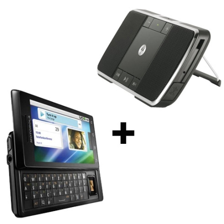 Smartphone Milestone 3G + Caixa de Som - Motorola