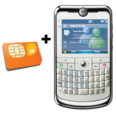 MotoQ11 GSM Messenger Motorola + Chip Oi Pré-Pago