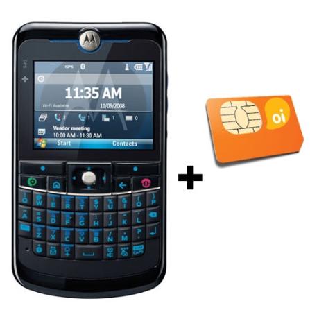 MotoQ11 GSM com Messenger + Chip Oi