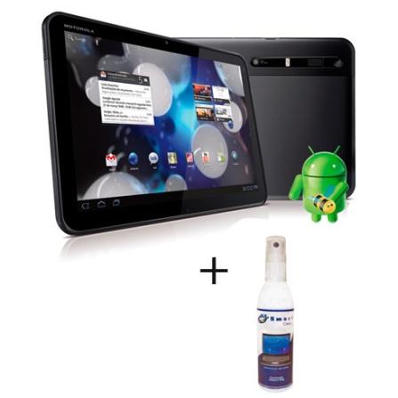 Tablet Motorola Xoom MZ604 com Wi-Fi + Limpador
