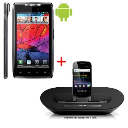 Smartphone Motorola Razr Wi-Fi + 3G + Dock Station