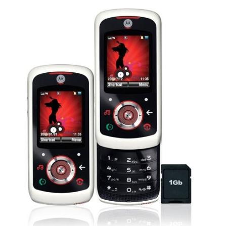 Celular GSM EM25 c/ Câmera / Cartão 1GB Motorola