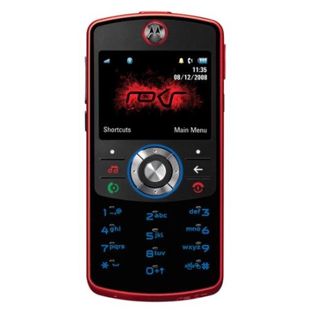 Celular GSM EM30 Candy Bar Vermelho e Preto com Câmera de 2.0MP / MP3 Player / Bluetooth Estéreo / Rádio FM com RDS / Ca