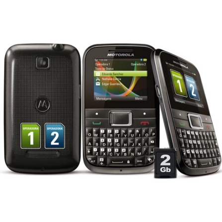 Celular Motorola Motokey Dual Chip Mini EX109