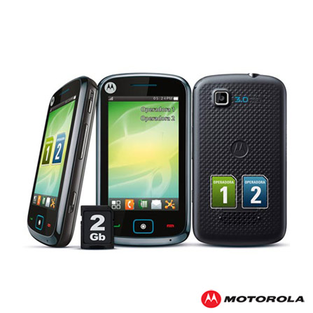 Celular EX128 Dual Chip, Full Touch 3,2