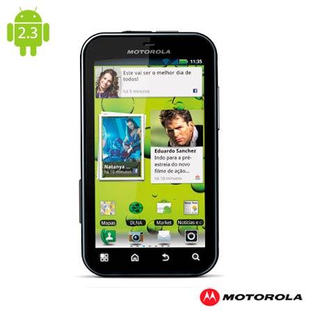 Smartphone Motorola Defy MB526 com Câmera de 5MP, Bivolt, Bivolt, 3.7'', True, 1, N, True, True, True, True, True, True, I, Micro Chip