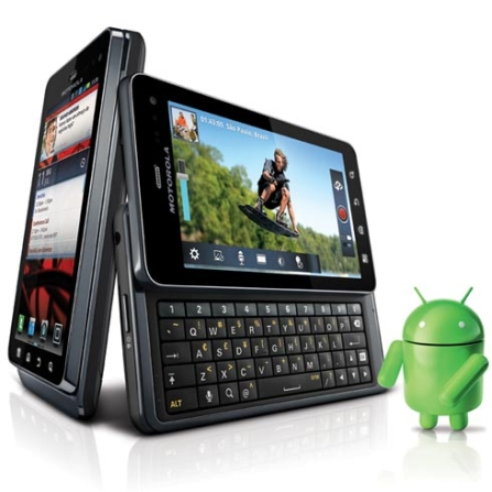 Smartphone Motorola Milestone 3 Câmera 8.0MP