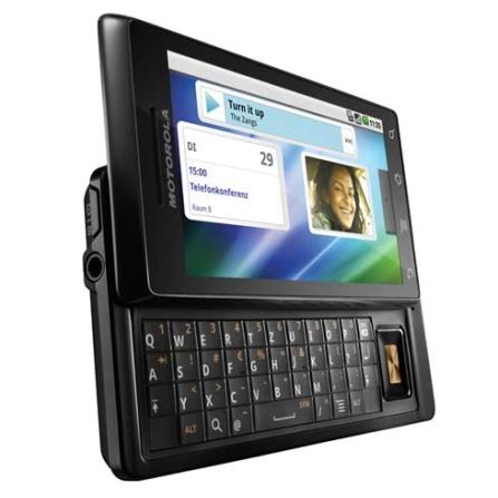 Smartphone Milestone Android 2.0,Touch Motorola