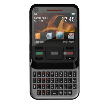 Celular Motocubo Slider/Teclado QWERTY Motorola