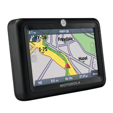 GPS TN30 Mapa 2D e 3D/Bluetooth/Viva-Voz Motorola