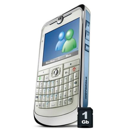 MotoQ11 GSM com Windows Live Messenger Motorola