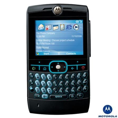 Celular Smartphone GSM Moto Q Preto com Sistema Operacional Windows Mobile 6.0 / Pocket MSN / Documents To Go / Bluetoot, Bivolt, Bivolt, Preto, 0, True, 1, N, True, False, True, False, False, False, I, 12 meses, Micro Chip