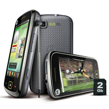 Celular MOTOTV com TV, Full Touch 3,2