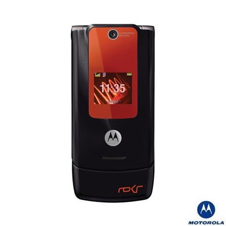 Celular ROKR W5 com Câmera de 1.3MP / MP3 Player e Cartão de Memória de 256Mb - Motorola