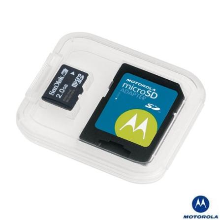Cartão de Memória Micro SD 1GB Motorola - SYN1294