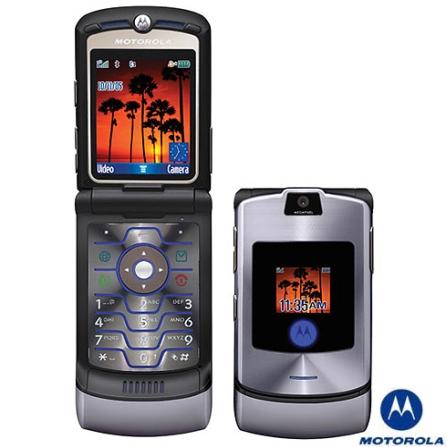 Celular GSM V3i com Cartão de 128MB Motorola - V3IGSM_128M