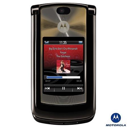 Celular GSM V8 Expresso com Câmera 2.0MP / MP3 Player / Vídeo MPEG4 / Bluetooth / Memória Interna de 2Gb - Motorola, Bivolt, Bivolt, Marrom, 0, False, 1, N, False, False, False, False, False, False, I, 12 meses, Micro Chip