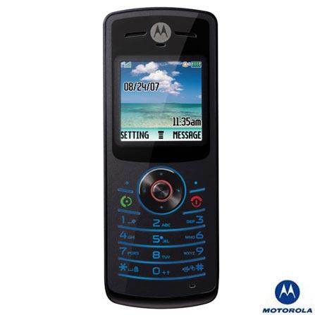 Celular GSM W175 Preto Com Display Colorido / Toques polifônicos - Motorola