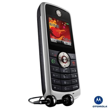 (MRW230_PT) Celular GSM W230 Prata Com MP3 e Rádio FM / Display Colorido - Motorola
