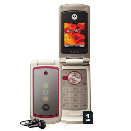 Celular GSM W396 / MP3 / Rádio FM Motorola