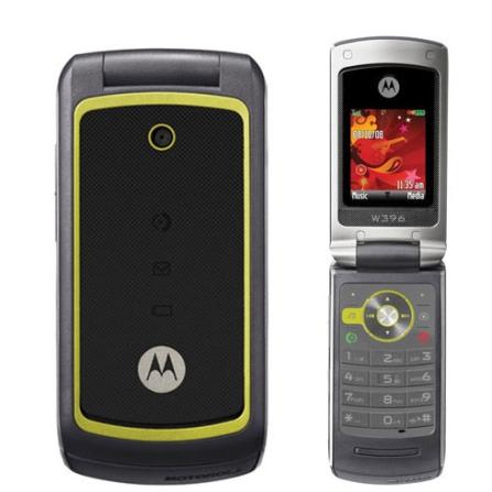 Celular GSM W396 c/ Câmera VGA/MP3 Player Motorola