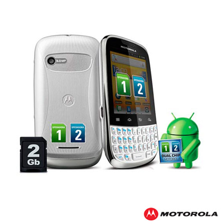 Smartphone Motorola Fire XT317 Branco Dual Chip, Bivolt, Bivolt, Branco, 3.2'', False, 1, N, True, True, False, True, True, True, I, 12 meses, Micro Chip