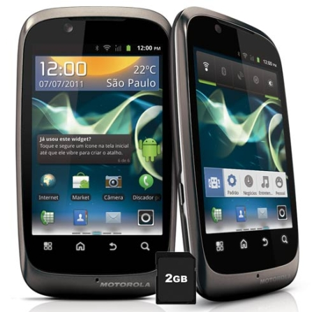 Smartphone Motorola Spice XT531 com Display de 3,5