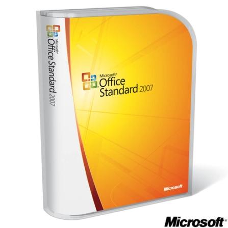 Office 2007 Standard Completo em Português - Microsoft - CJ02107737