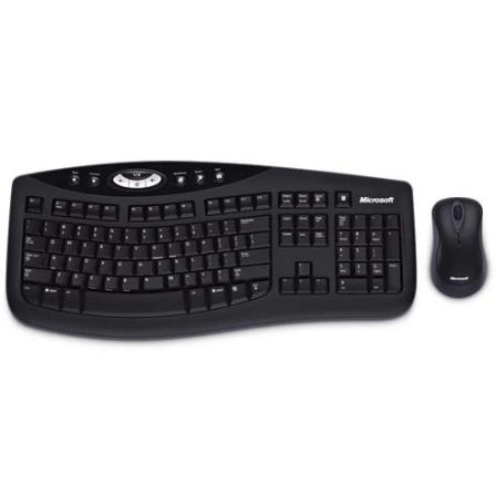 Teclado e Mouse sem fio Desktop 2000 - Microsoft - CJ65V_00002