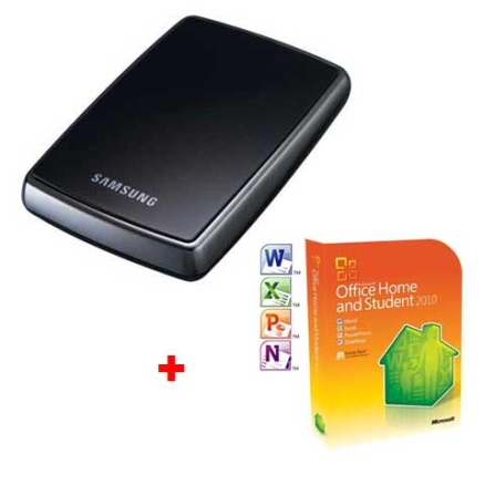 HDD 250GB Samsung + Office Home and Student 2010