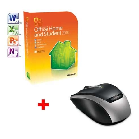 Office Home&Student 2010 3 Licençs + Mouse sem fio