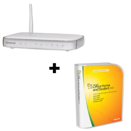 Roteador Wireless NetGear + Office 2007 Microsoft