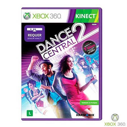 Kinect Dance Central 2 Xbox 360+ Live 12 Meses, GM