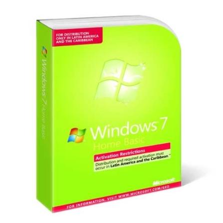 Windows 7 Home Basic em Português Microsoft