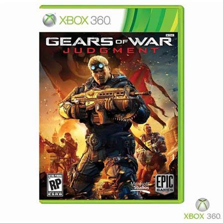 Jogo Gears of War: Judgment + Cartão Live Points 1500 Pontos, GM