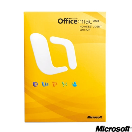 Office Mac 2008 Home Student Microsoft