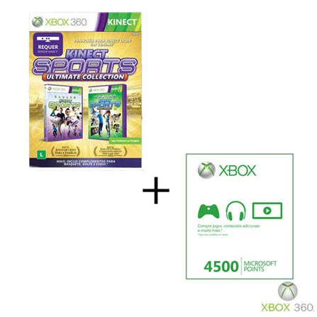 Kinect Sports Ultimate+Live Points 4500, GM